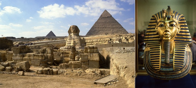 EG040710 Egypti Gizan sfinksi ja pyramidit 1987
