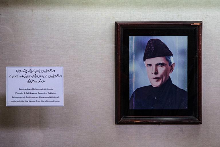 PK_200123 Pakistan_0161 Karachin kansallismuseo_Maan isä Muhamm