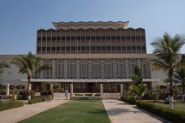 PK_200123 Pakistan_0193 Karachin National Museum of Pakistan Sindhissä