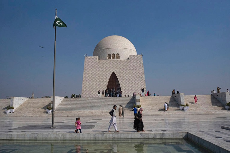 PK_200123 Pakistan_0276 Mazar-e-Quaid eli Jinnah Mausoleum Karac