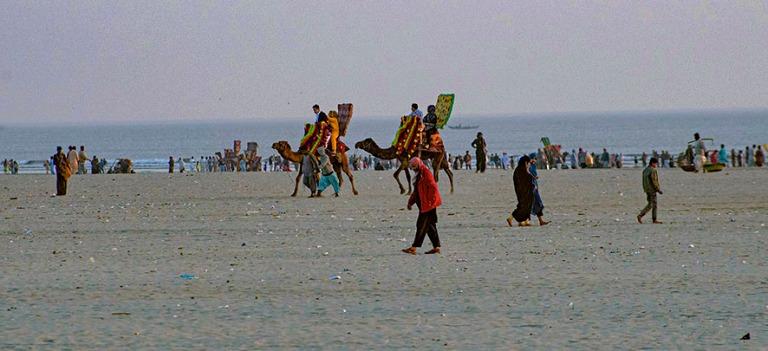 PK_200123 Pakistan_0533 Karachin Clifton Beach Sindhissä