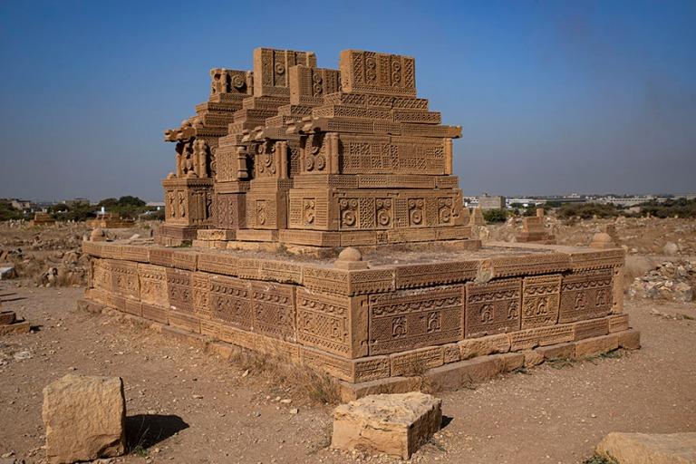 PK_200124 Pakistan_0085 Chaukundin (Chaukhandin) nekropoli Sindh