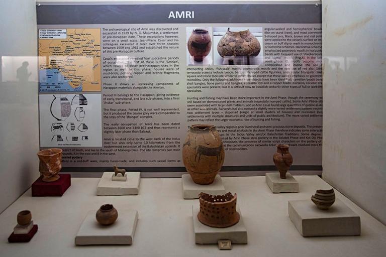 PK_200125 Pakistan_0251 Amrista löydettyä esineistöä Mohenjo