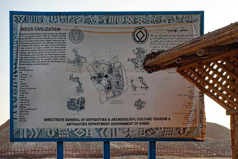 PK_200125 Pakistan_0301 Indus Civilization -taulu Moenjo Darossa