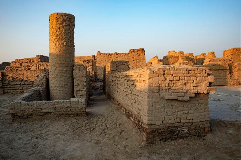PK_200125 Pakistan_0367 Moenjo Daron alakaupungin raunioita Sund