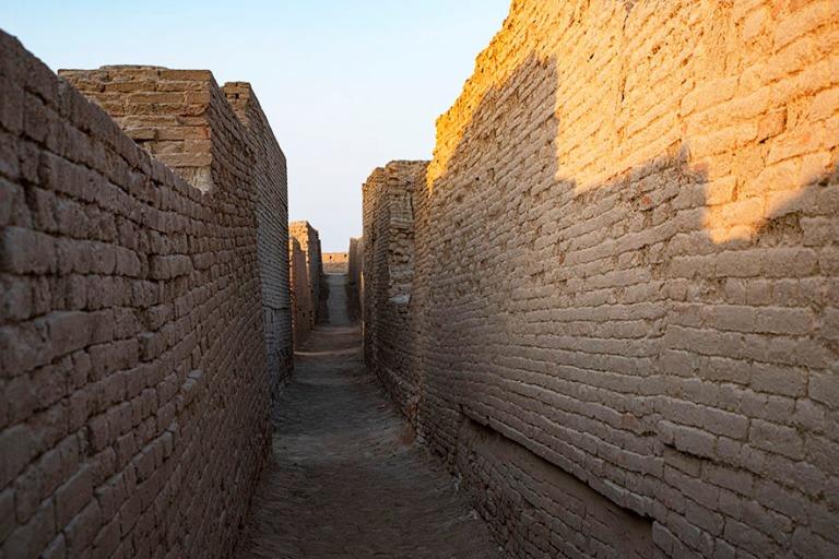 PK_200125 Pakistan_0372 Moenjo Daron alakaupungin raunioita Sund