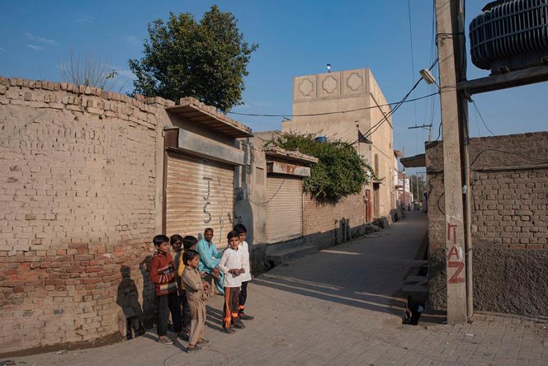 PK_200126 Pakistan_0318 Uch Sharifin kylää Punjabissa