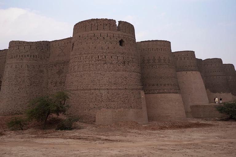 PK_200127 Pakistan_0054 Derawarin linnoitus Cholistanin autiomaa