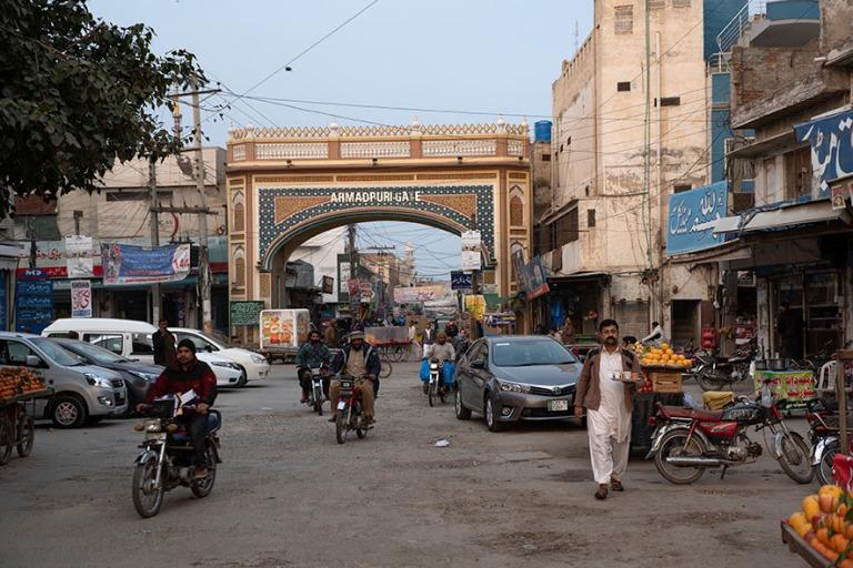 PK_200127 Pakistan_0277 Bahawalpurin basaarialueen Ahmadpuri Gat