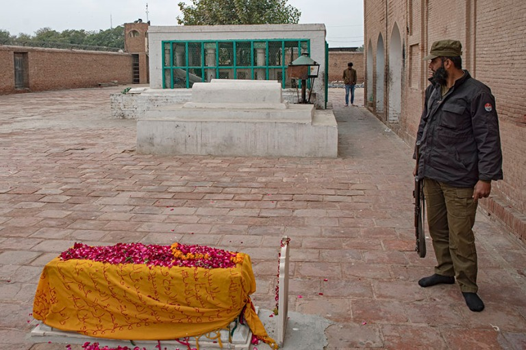 PK_200128 Pakistan_0209 Sheikh Bahauddin Zakariyan mausoleumi Mu