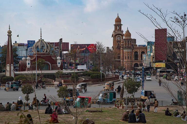 PK_200127 Pakistan_0247 Multanin keskustaa Punjabissa
