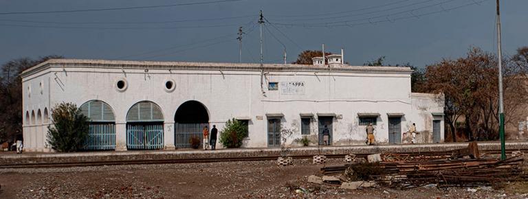 PK_200129 Pakistan_0133 Harappan rautatieasema Punjabissa