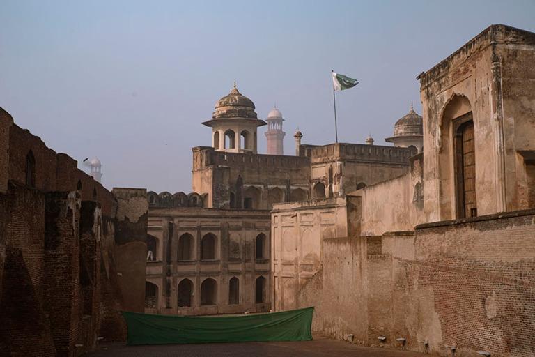 PK_200130 Pakistan_0233 Lahoren linnoitus Punjabissa