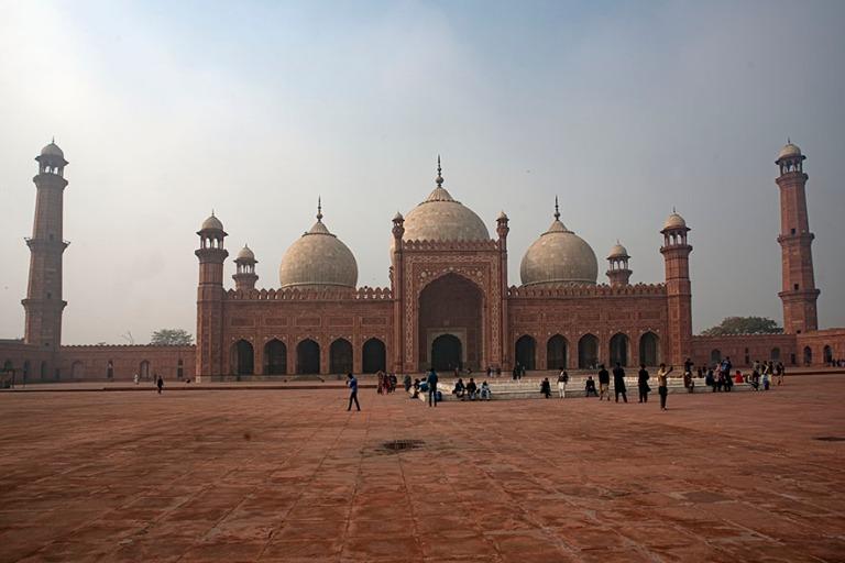 PK_200130 Pakistan_0271 Lahoren  Badshahi Masjid (Kuninkaan mosk