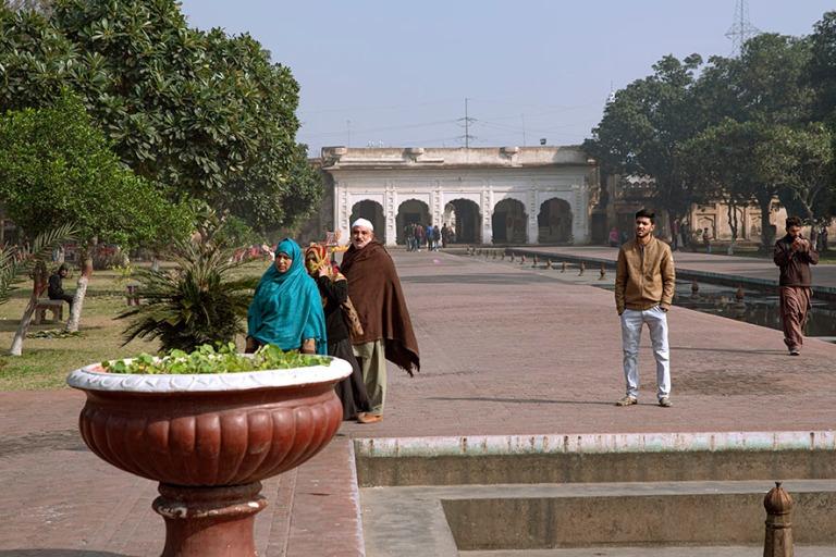 PK_200130 Pakistan_0367 Lahoren Shalamarin puutarha Punjabissa