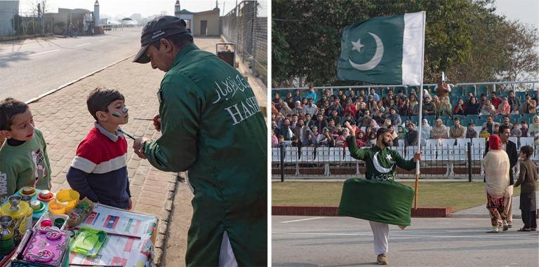 PK_200130 Pakistan_0428 Wagah-Attarin rajaseremonia Wagahin raja