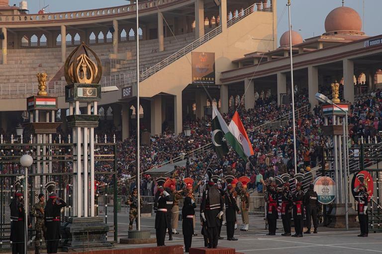 PK_200130 Pakistan_0612 Wagah-Attarin rajaseremonia Wagahin raja