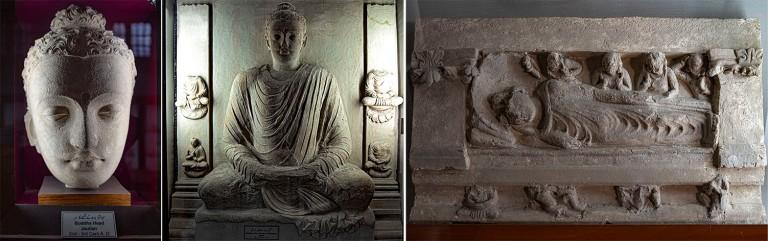 PK_200201 Pakistan_0038 Taksilan museo Pohjois-Punjabissa_Buddha