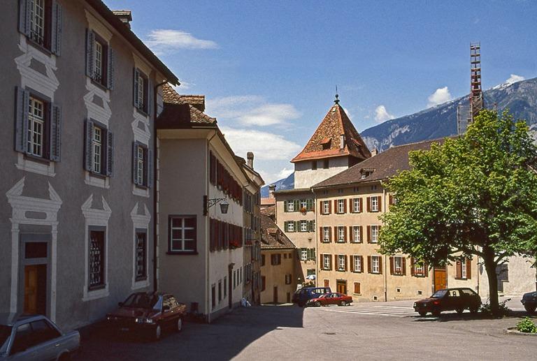 CH052637 Sveitsi  Churin Hof Graubündenin kantonissa 1989