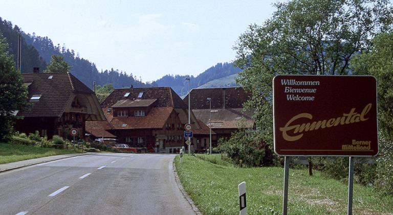 CH281428 Sveitsi Emmentalin maaseutua Bernin kantonissa 1997