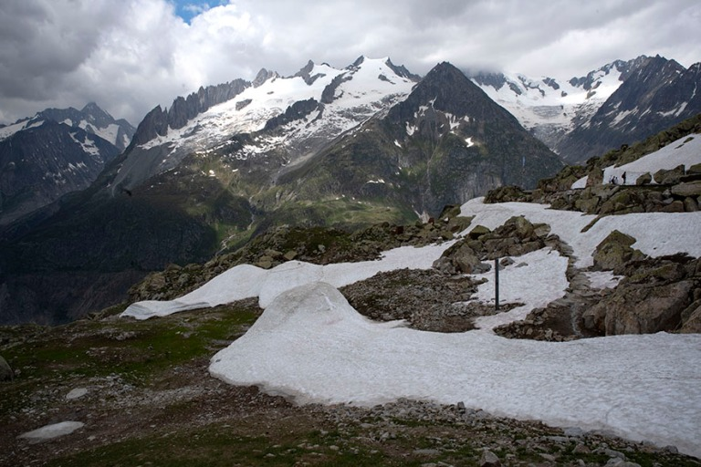 CH_190708 Sveitsi_0179 Alppimaisemaa Bettmerhornilta Valais´n (