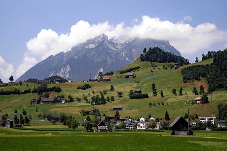 CH_190710 Sveitsi_0082 Stanserhornvuori Stansista Nidwaldenin ka