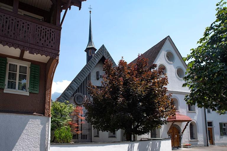 CH_190710 Sveitsi_0121 Sarnenin Pyhän Andreasin benediktiinilä