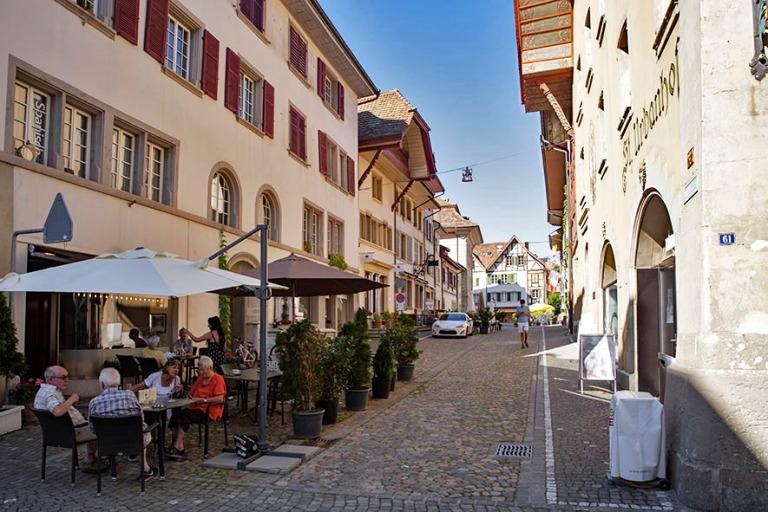 CH_190710 Sveitsi_0206 Zofingenin vanhaa kaupunkia Aargaun kanto