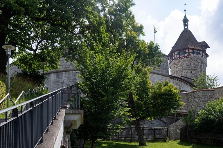 CH_190714 Sveitsi_0035 Schaffhausenin Munot-linnoitus