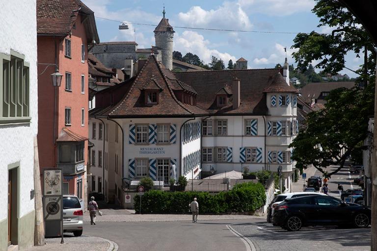 CH_190714 Sveitsi_0149 Schaffhausenin kaupungin Restaurant Thier