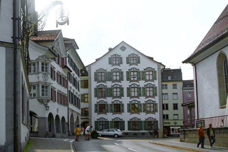 CH_190714 Sveitsi_0269 Herisaun Wetterhaus Appenzell Ausserrhode