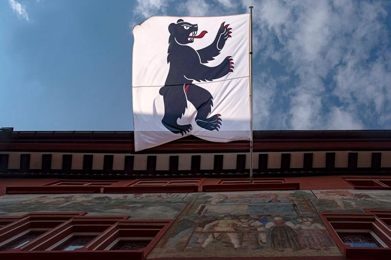 CH_190714 Sveitsi_0386 Appenzell Innerrhodenin kantonin lippu Ap