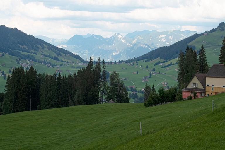 CH_190714 Sveitsi_0408 Appenzellin Alppeja Appenzellin leirintä