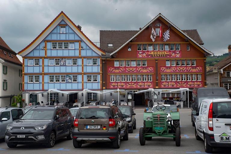 CH_190715 Sveitsi_0051 Appenzellin Landsgemeindeplatz Appenzell