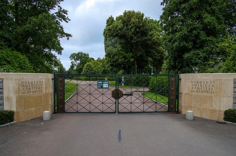 FR_120626 151 Ranska Normandy American Cemetery and Memorialin s