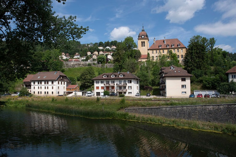 FR_190712 Ranska_0013 Morteaun kaupunkia Franche-Comtéssa