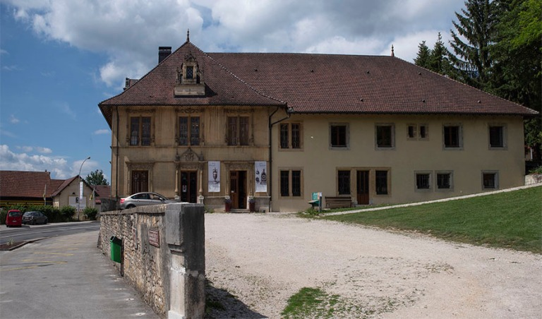 FR_190712 Ranska_0025 Morteaun kellomuseo Franche-Comtéssa