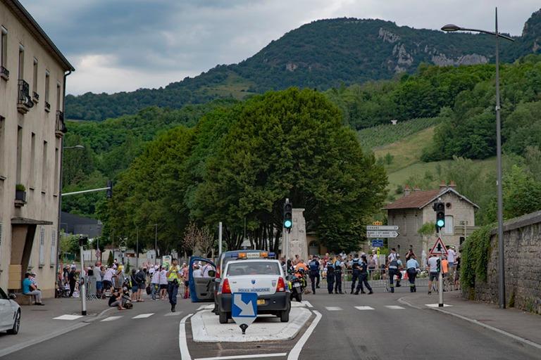 FR_190712 Ranska_0092 Tour de Francen tiesulku Salins les Bains