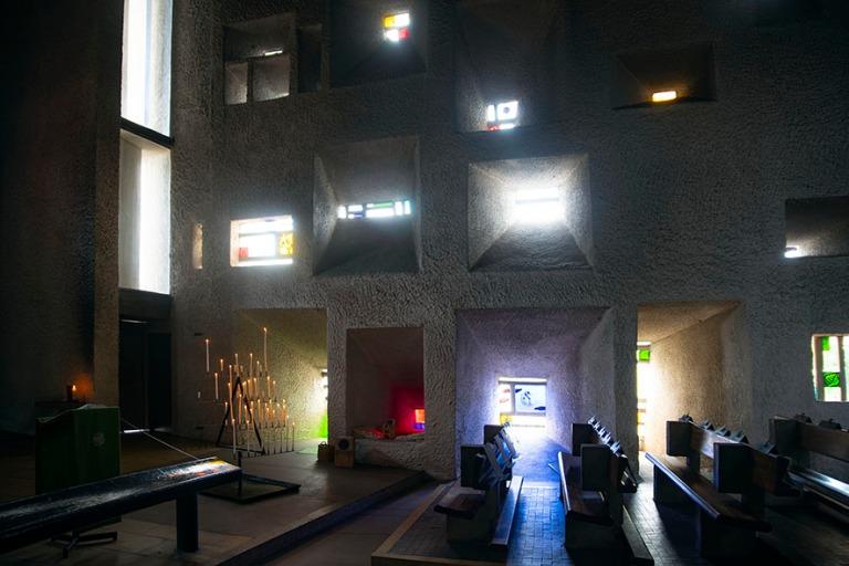 FR_190713 Ranska_0050 Le Corbusier´n Notre Dame du Haut Ronchha