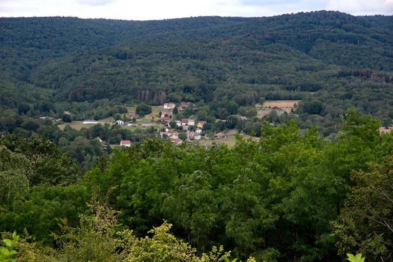 FR_190713 Ranska_0052 Ronchhampin panoraamaa Notre Dame du Haut