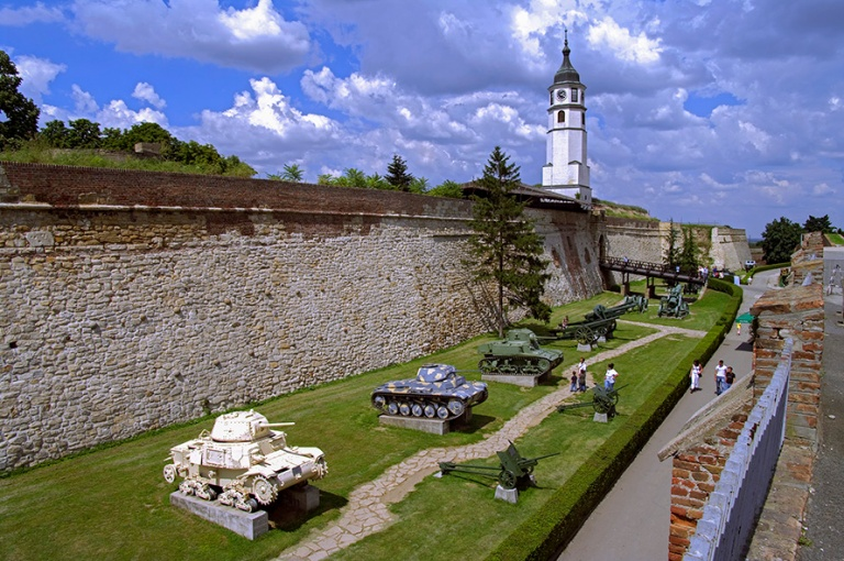 RS_100710 202 Serbia Belgradin sotamuseo Kalemagdanin linnoituks