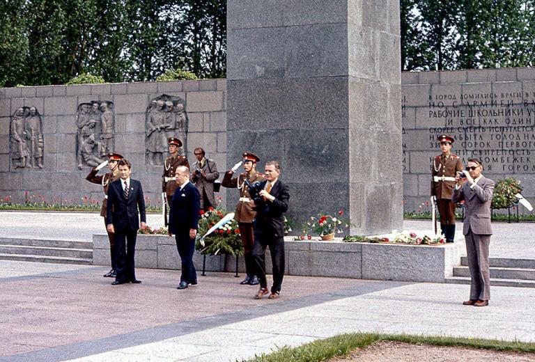 RU001734 Venäjä (Neuvostoliitto) Turun johtajien seppeleenlask