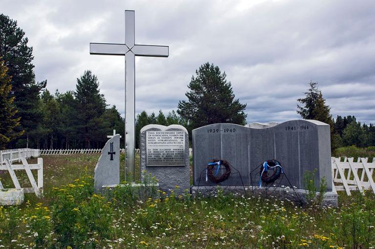 RU_150814 Venäjä_0011 Suomalaisten sotilashautausmaa Venäjän