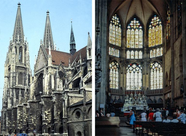 DE015919 Saksa Regensburgin Dom St Peter 1983
