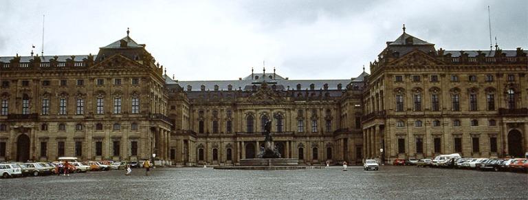 DE018107 Saksa Würzburgin Residenz 1983.