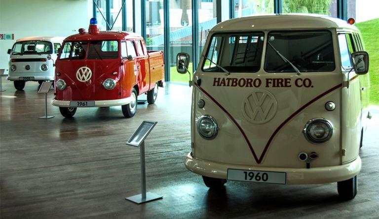DE_080722 121 Saksa VW Transportereita Wolfsburgin Autostadtin museossa