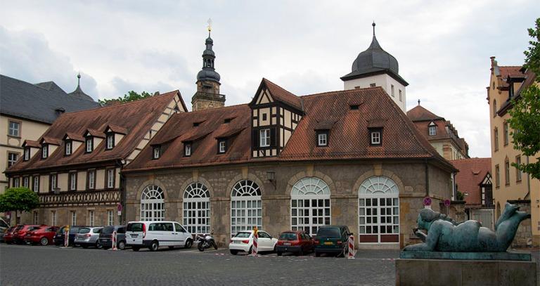 DE_130817 Saksa_0085 Bambergin yliopiston kampusta ja Boteron ve