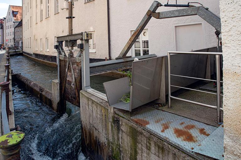 DE_190716 Saksa_0118 Augsburgin vesihuoltojärjestelmää