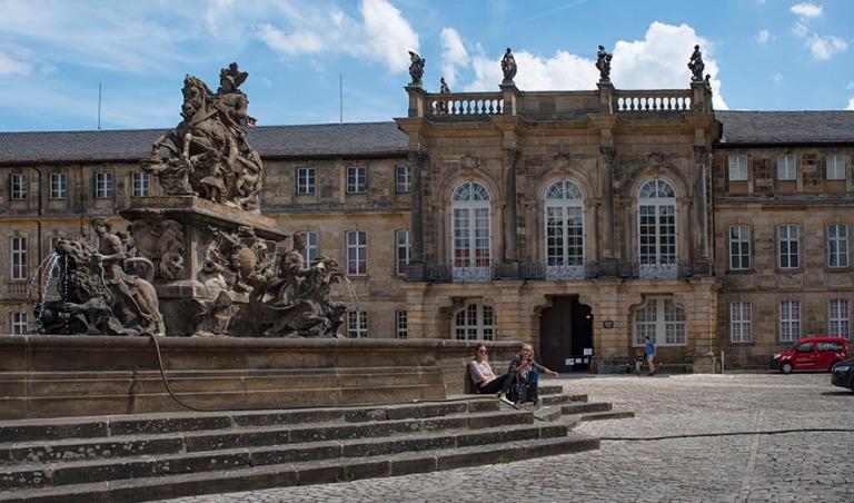 DE_190717 Saksa_0127 Bayreuthin Neues Schloss Baijerissa