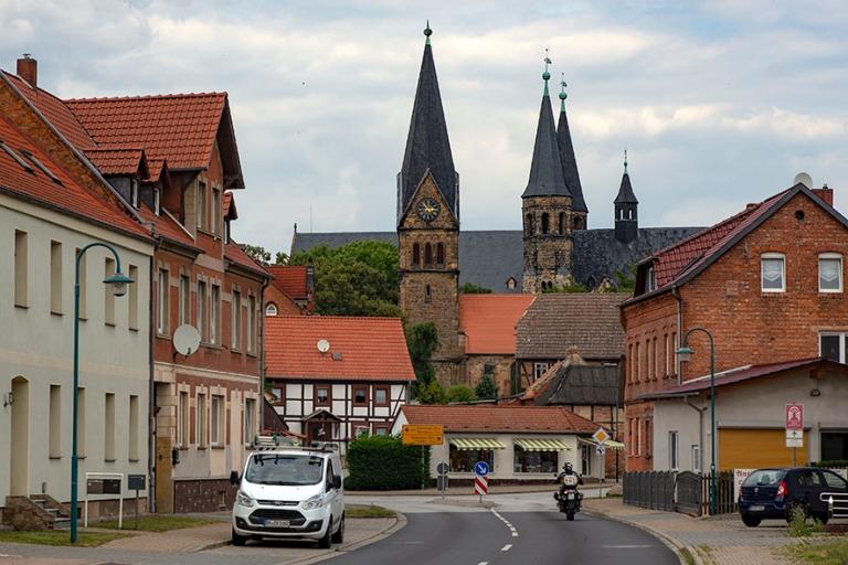 DE_190718 Saksa_0024 Hamerslebenin luostari Saksi-Anhaltissa